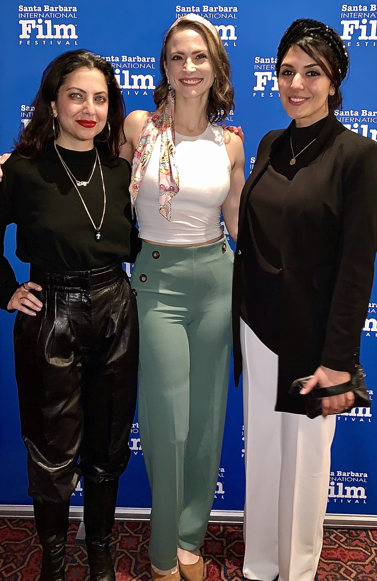 """With the ladies of """"The Night"""" at SBIFF"""
