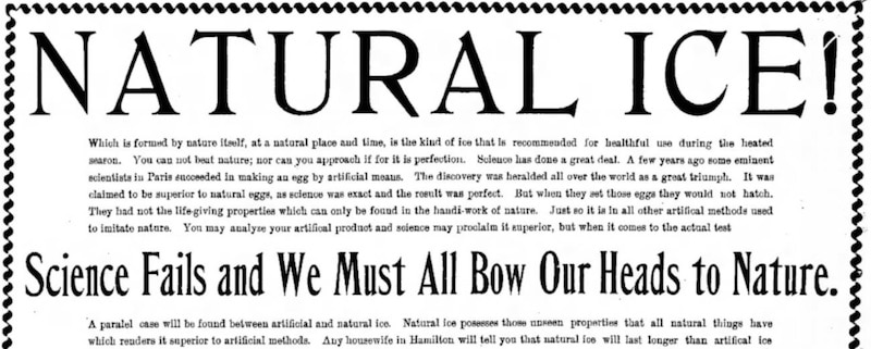 Newspaper article from Pessimists Archive