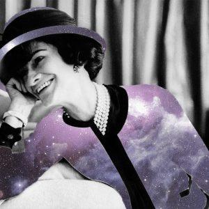 Coco Chanel Art by Digital Executrix