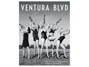 Gia Mora (center) on the cover of Ventura Blvd. Photo by Marjorie Salvaterra